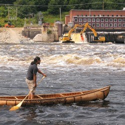 Breaching Veazie Dam begins as part of Penobscot River Restoration