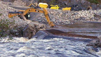 Maine's Penobscot River finally runs free after huge restoration project (video)