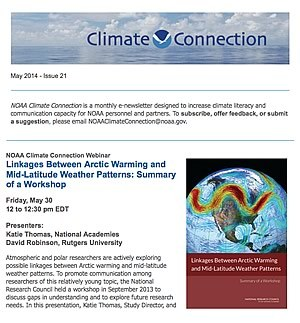 NOAA Climate Connection