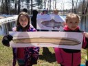 Monson Elementary School is visiting Richard Cronin Salmon Station in Sunderland, MA