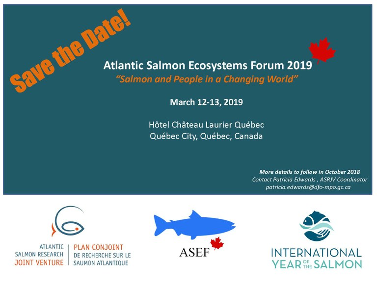 2019 Salmon Forum Flyer
