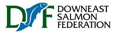 Color logo for Downeast Salmon Federation.