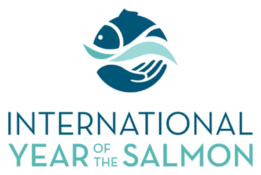 International Year of the Salmon logo.